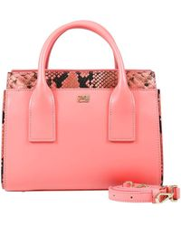 Class Roberto Cavalli - Peach Small Handbag Lucille 002 - Lyst