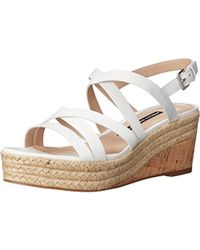 French Connection - Womens Liya Printed Strappy Espadrilles - Lyst