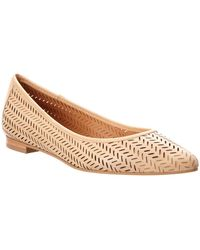 Corso Como - Greenwich Leather Flat - Lyst