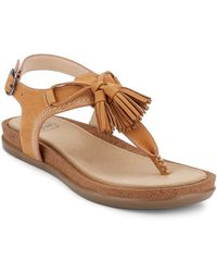 G.H. Bass & Co. - . Womens Sunjuns Sadie Sandal Shoe - Lyst