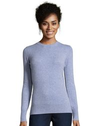 Cynthia Vincent - Long Sleeve Cashmere Crewneck Sweater - Lyst
