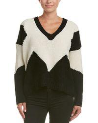 Six Crisp Days - Colorblock Sweater - Lyst
