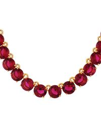 Les Nereides - La Diamantine Grenadine Round Stones Luxurious Necklace - Lyst