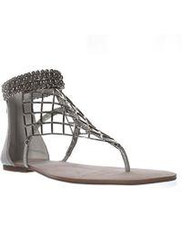 Jessica Simpson - Womens Kyla Split Toe Casual T-strap Sandals - Lyst