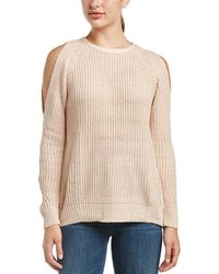 Fate - Cold-shoulder Sweater - Lyst