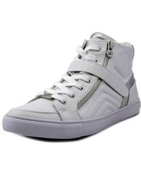 G by Guess - Ojay High-top Trainer Round Toe Synthetic Trainers - Lyst