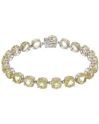 Effy - Fine Jewelry 14k 22.05 Ct. Tw. Lemon Quartz Bracelet - Lyst