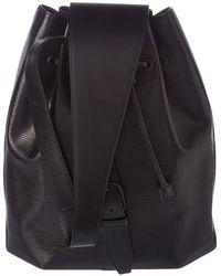 Louis Vuitton - Noir Epi Leather Sac A Dos - Lyst
