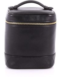 1e64107431e0 Chanel - Pre Owned Vintage Cosmetic Case Lambskin Tall - Lyst