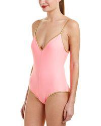 Sam Edelman - One-piece Tank Swimsuit - Lyst