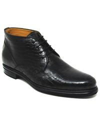 Jose Real - T520 Chukka Boot Cologne Allig Black - Lyst