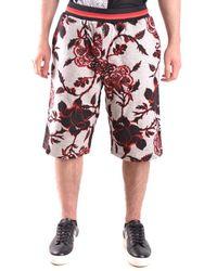 Alexander McQueen - Men's Multicolour Cotton Shorts - Lyst
