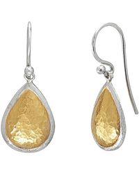 Gurhan - Amulet 24k Yellow Gold Over Silver Drop Earrings - Lyst