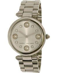 Marc By Marc Jacobs - Women's Dotty Mj3475 Silver Stainless-steel Quartz Fashion Watch - Lyst