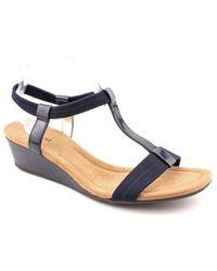 Alfani - Womens Voyage Open Toe Casual Slide Sandals - Lyst
