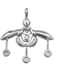 Jewelry Affairs - Greek Ancient Minoan Bees Pendant In Sterling Silver Pendant, 30mm - Lyst