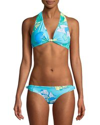 6 Shore Road By Pooja - Oceanfront Floral Bikini Top - Lyst