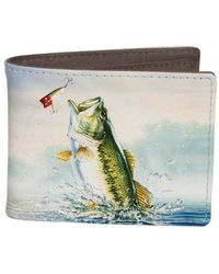 Buxton - Men's Wildlife Slim Bifold Wallet - Lyst