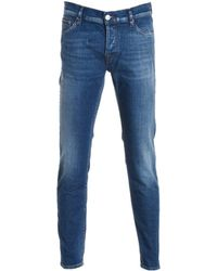 Care Label - Men's Blue Cotton Jeans - Lyst