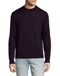 Tocco Toscano - Wool Mock Neck Jumper - Lyst