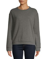 Philosophy - By Republic Embellished Sweatshirt - Lyst