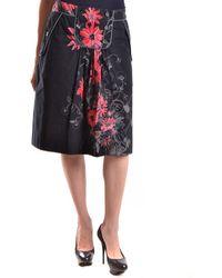 Isola Marras - Women's Multicolor Cotton Skirt - Lyst