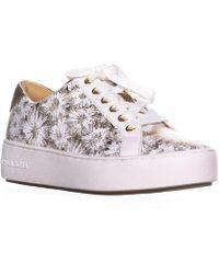 3f48b583778d9 Lyst - Michael Kors Michael Boerum Lace Up Fashion Sneakers