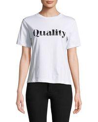 Millie Mackintosh - Quality T-shirt - Lyst