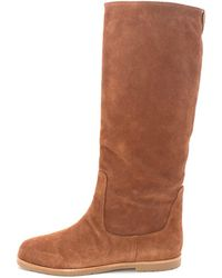 9ba8e16df6c MICHAEL Michael Kors - Womens Kenton Flat Boot Leather Closed Toe Knee High  Fas.