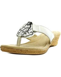 Easy Street - Women's Rossano Wedge Sandal - Lyst