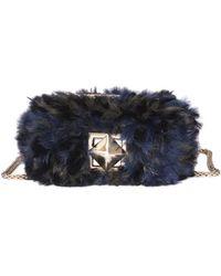 Sonia Rykiel - Women's Multicolor Leather Shoulder Bag - Lyst
