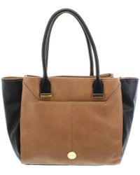 Franco Sarto - Womens Garden Faux Leather Colorblock Shopper Handbag - Lyst 596b36559396a