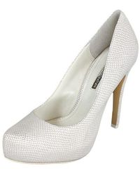 00cdbcf3df3 Lyst - Bcbgeneration Womens Bg-parade Pointed Toe Classic Pumps in White