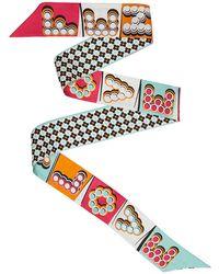 Fendi - Women's White Silk Bracelet - Lyst