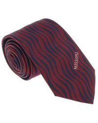 Missoni - U5569 Red/black Animal 100% Silk Tie - Lyst