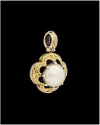 Konstantino - Hermione 18k & Silver 15mm Mabe Pearl Enhancer - Lyst