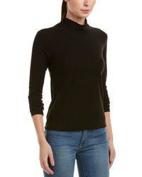 James Perse - Twisted Turtleneck - Lyst