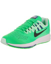 d5b0c784e59 Lyst - Nike Womens Air Zoom Structure 19 Cool Fabric Low Top Lace Up ...