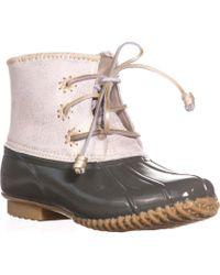Jack Rogers - Chloe Classic Rain Boots , Olive - Lyst