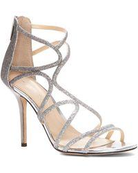 Imagine Vince Camuto - Ranee Glitter Strappy Sandals - Lyst