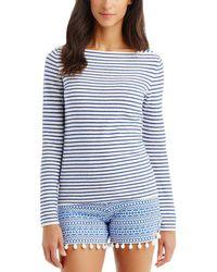J.McLaughlin - Linen-blend Sweater - Lyst