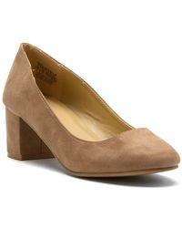 "Wanted - Women's Block Heel Court Shoes ""amelia - Lyst"