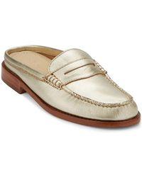 G.H. Bass & Co. - . Women's Classic Weejuns Wynn Mule Loafer Shoe - Lyst