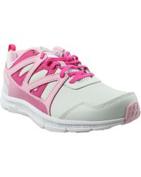 Reebok - Womens Run Supreme 2.0 Pink Running Shoes - Lyst 2ab2000fe