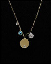 Meira T - 14k 0.17 Ct. Tw. Diamond Necklace - Lyst