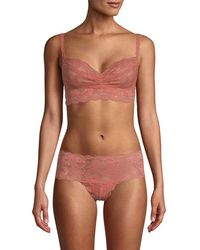 87f93859f076b Lyst - Cosabella Never Say Never soire Soft Padded Bra in Natural