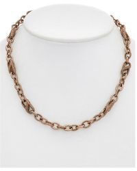 Judith Ripka - 14k Gold Clad Necklace - Lyst