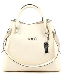 Andrew Charles by Andy Hilfiger | Andrew Charles Womens Handbag Beige Marissa | Lyst