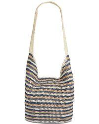 Style & Co. - . Womens Crochet Striped Hobo Handbag - Lyst