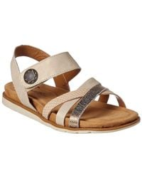 Comfortiva - Alonsa Leather Sandal - Lyst